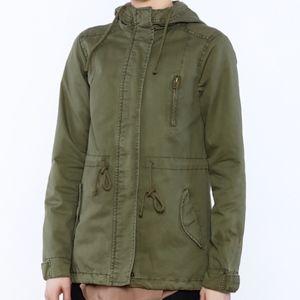 Cadet zip-up jacket